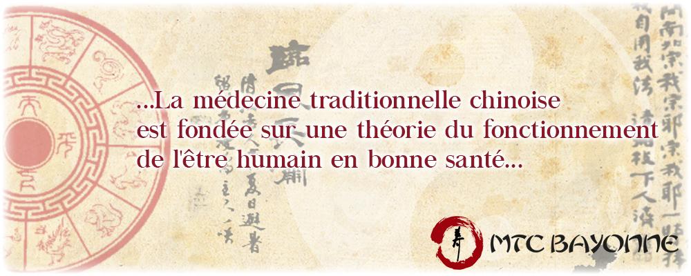 la médecine chinoise est fondée sur une théorie du fonctionnement de l être humain en bonne santé